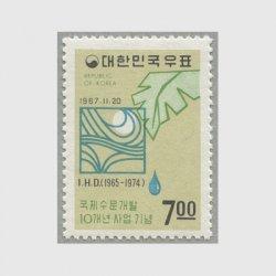 韓国 1967年国際水文開発10年計画