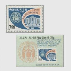 韓国 1968年第2回世界大学総長会議