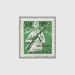 韓国 1968年国土防衛募金