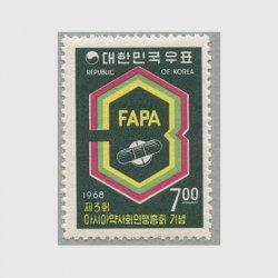韓国 1968年第3回アジア薬剤師会連盟