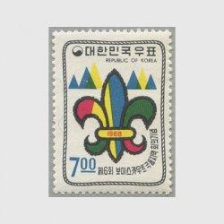 韓国 1968年第6回ボーイスカウト極東地域会議