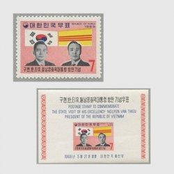 韓国 1969年南ベトナム大統領訪韓