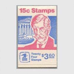 アメリカ 1978年切手帳$3.60O.W.ホームズ