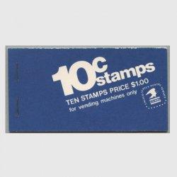アメリカ 1973年切手帳$1.00ジェファーソン記念堂