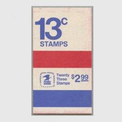 アメリカ 1975年切手帳$2.99自由の鐘