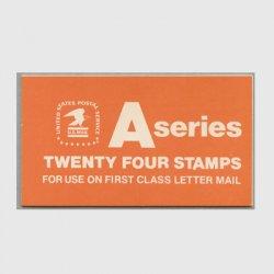 アメリカ 1978年切手帳Aシリーズ ワシ
