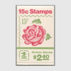 アメリカ 1978年切手帳$2.40バラ