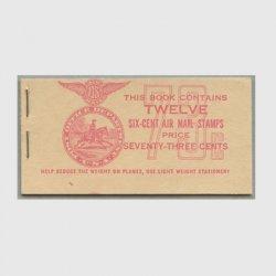 アメリカ 1943年航空切手切手帳75c