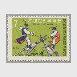 韓国 1969年民族芸術大会