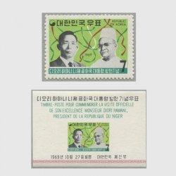 韓国 1969年ニジェール大統領訪韓