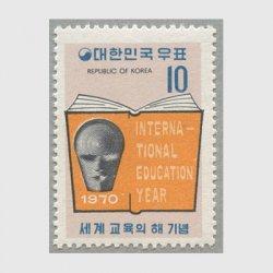 韓国 1970年国際教育年