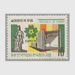 韓国 1970年日本万国博覧会