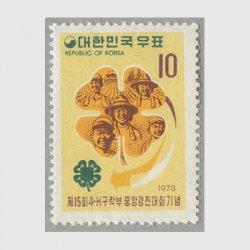韓国 1970年第15回4Hクラブ大会