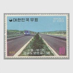 韓国 1970年ソウル・釜山間構想道路竣工