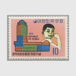 韓国 1970年児童会館開館