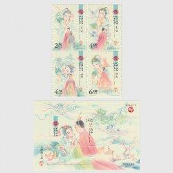 中国マカオ 2020年文学と人物シリーズ「洛神賦」