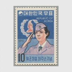 韓国 1970年婦人軍創設20年