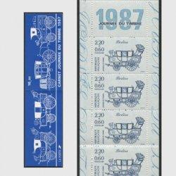 フランス 1987年切手の日・切手帳