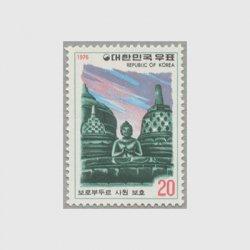 韓国 1976年ボロブドゥール寺院保護