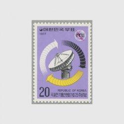 韓国 1977年ITU加入25年