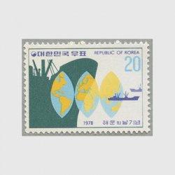 韓国 1978年海運の日