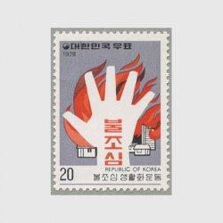韓国 1978年「火の用心」生活化運動