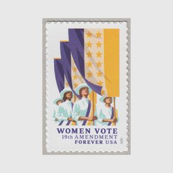 アメリカ 2020年合衆国憲法修正第19条・女性参政権