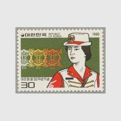 韓国 1980年婦人軍30年