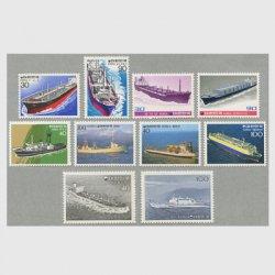 韓国 1981年船シリーズ10種