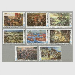 韓国 1982年歴史絵画シリーズ8種