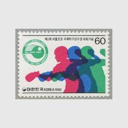 韓国 1982年第2回ソウル国際卓球大会