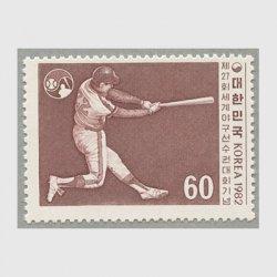 韓国 1982年第27回世界野球大会