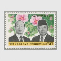 韓国 1982年インドネシア大統領訪韓