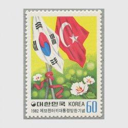 韓国 1982年トルコ大統領訪韓