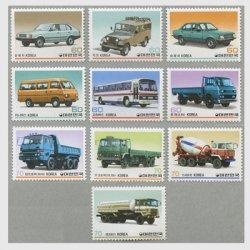 韓国 1983年国産自動車シリーズ10種