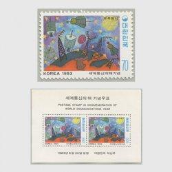 韓国 1983年世界コミュ二ケーション年