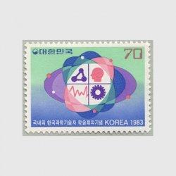 韓国 1983年韓国科学技術者シンポジウム