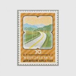 韓国 1984年オリンピック高速道路開通