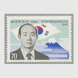 韓国 1984年全大統領訪日