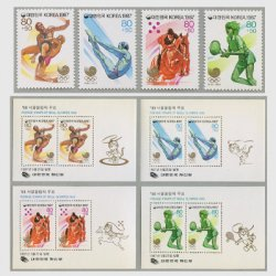韓国 1987年ソウルオリンピック大会募金第8集