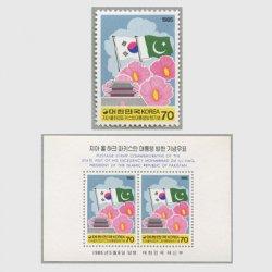 韓国 1985年パキスタン大統領訪韓