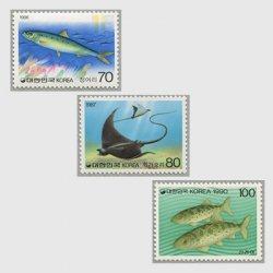 韓国 1958-91年さかなシリーズ