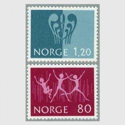 ノルウェー 1972年INTERJUNEX2種