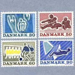 デンマーク 1971年セーリングなど4種