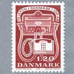 デンマーク 1979年電話100年