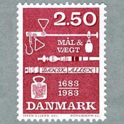 デンマーク 1983年度量法300年