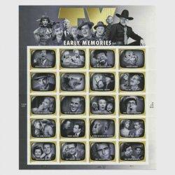 アメリカ 2009年TVミニチュアシート