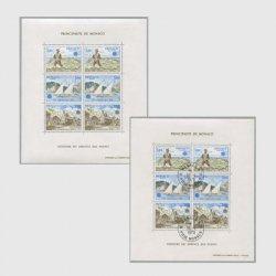 モナコ 1979年ヨーロッパ切手シート