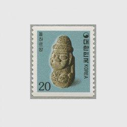 韓国 1987年普通 幼児石像 コイル
