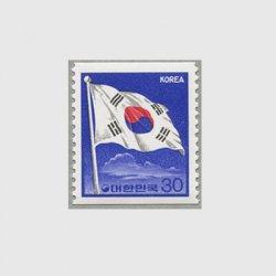 韓国 1987年普通 国旗 コイル